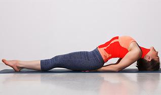 fish pose matsyasana yoga  benefits steps